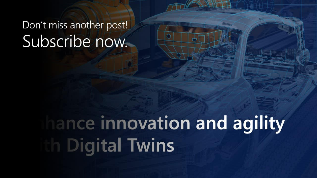 "Featured image for ""Enhance innovation and agility with Digital Twins"""